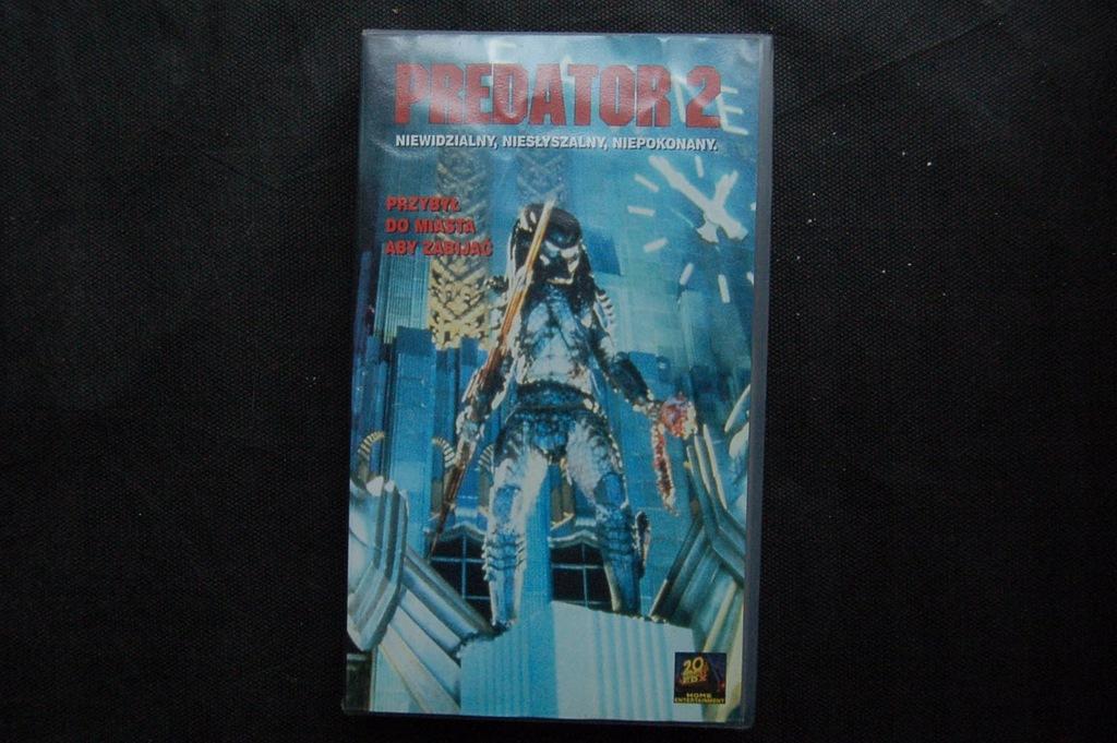 PREDATOR 2 VHS
