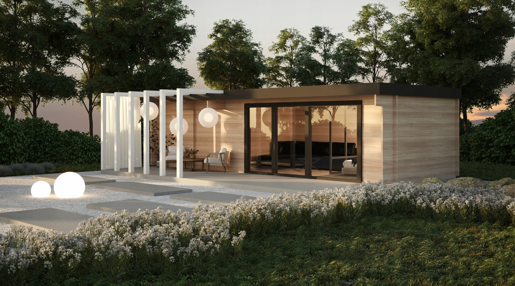 Dom nowoczesny - KOSTKA 1