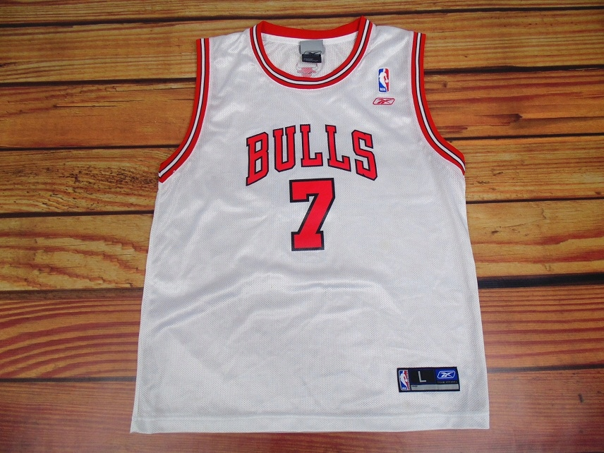 REEBOK CHICAGO BULLS NBA __ GORDON _ KOSZULKA _ L
