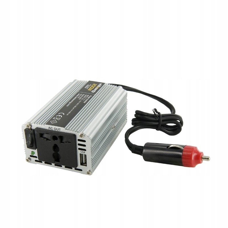 Przetwornica AC/DC 200W 12V/230V z USB 06577