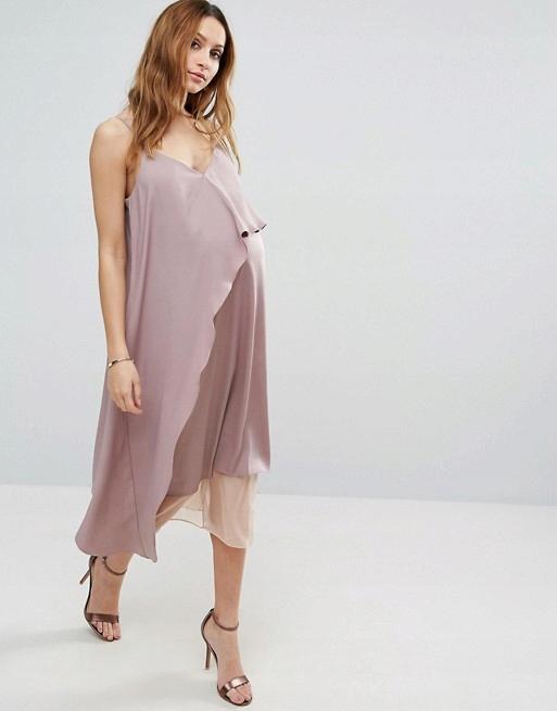 D978 ciążowa sukienka na ramiączkach 34