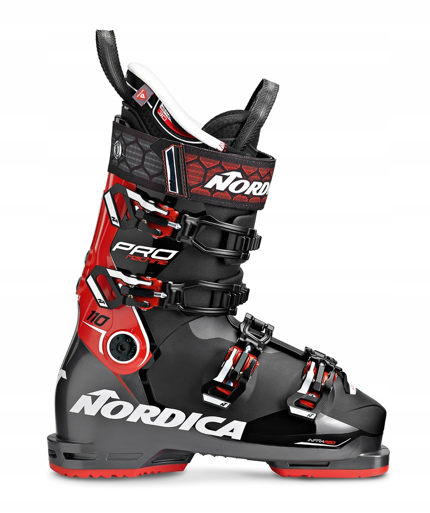 Buty narciarskie NORDICA Pro Machine 130 GW Black Red 2020