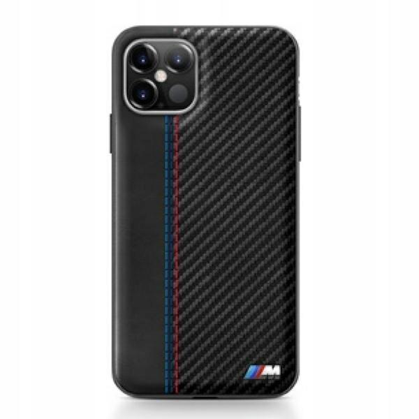 "Etui BMW BMHCP12SMCARBK iPhone 12 5,4"" mini c"