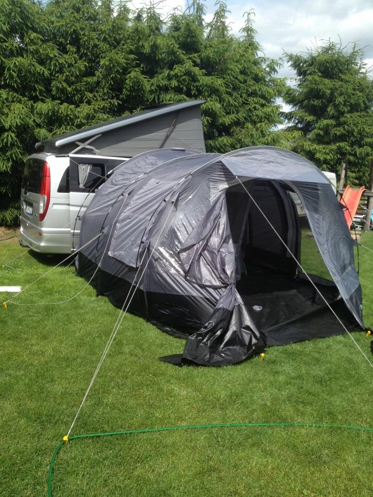 Namiot tunelowy przedsionek do busa vana EXPLORER