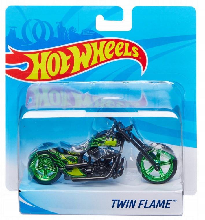 Hot Wheels. X4221 Motocykl Street Power, mix wz...
