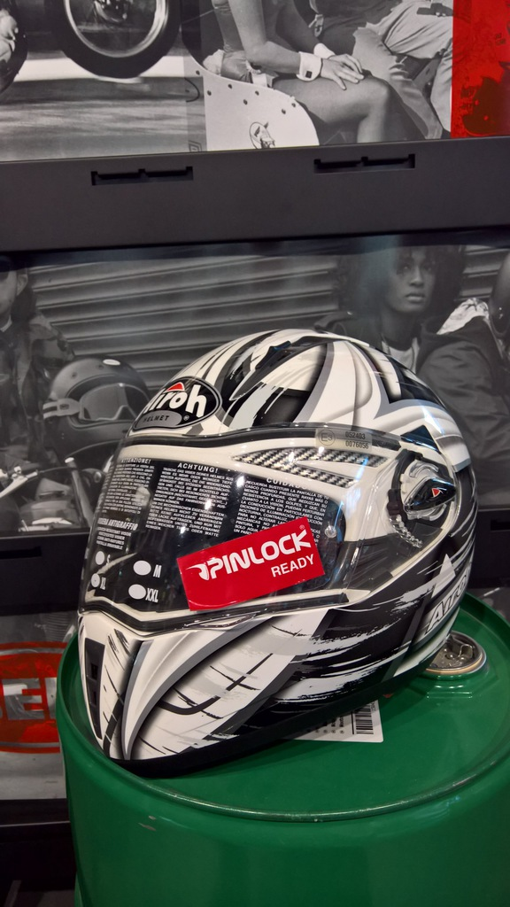 Kask motocyklowy Airoh Pit One Roller roz. XL