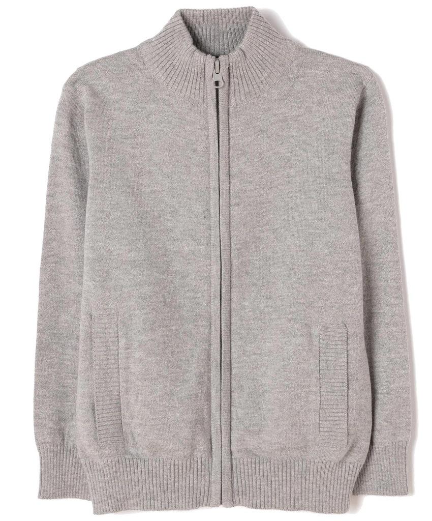 Sweter Zippy 6849585 szary, srebrny