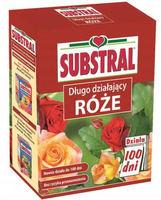 SUBSTRAL Nawóz 100 dni do róż i kwiatów 1kg