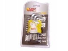 Zestaw kluczy imbusowych 1,5-10mm klucze imbusowe