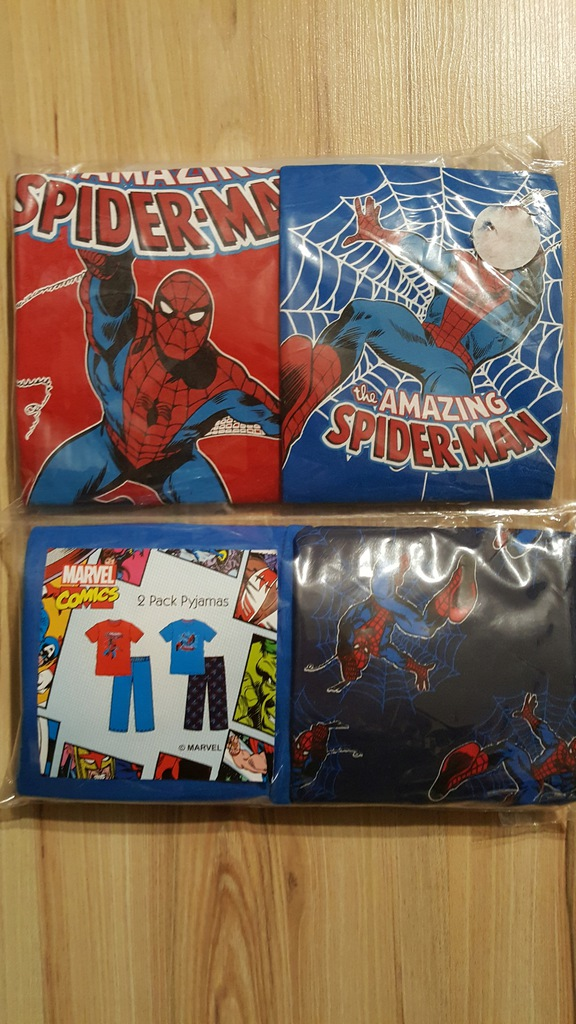 Piżama 2-pak r104 SPIDERMAN