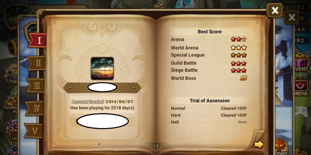 Summoners War 2 LD-Tian Lang, Han G2 arena C3 RTA