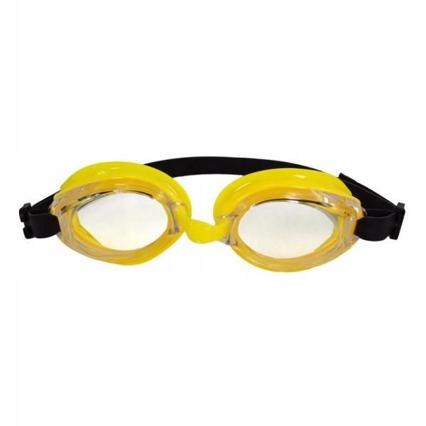 Okularki do pływania Red Snapper żółte z czarną gu
