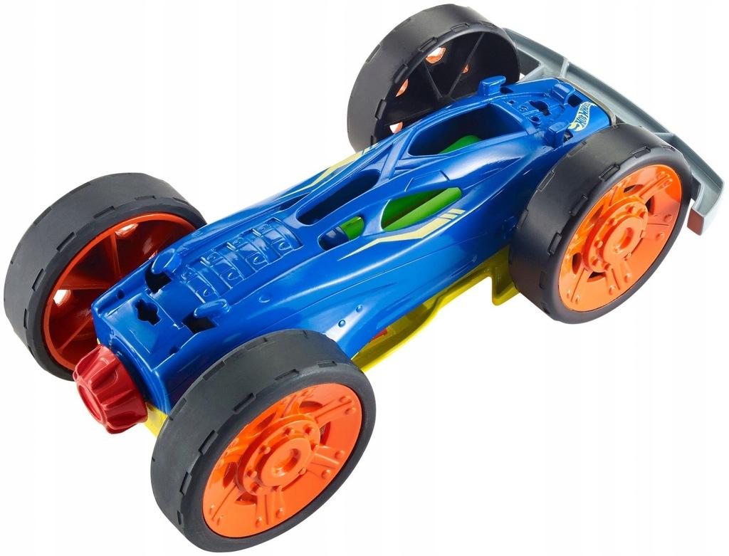 Hot Wheels. FDK50 Wyścigówka Twisted Backflip, ...