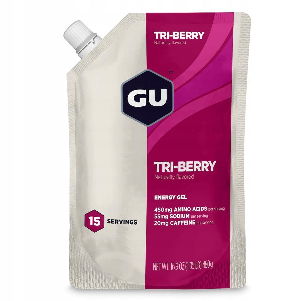 Żel energetyczny Energy Gel 15 porcji GU jagody