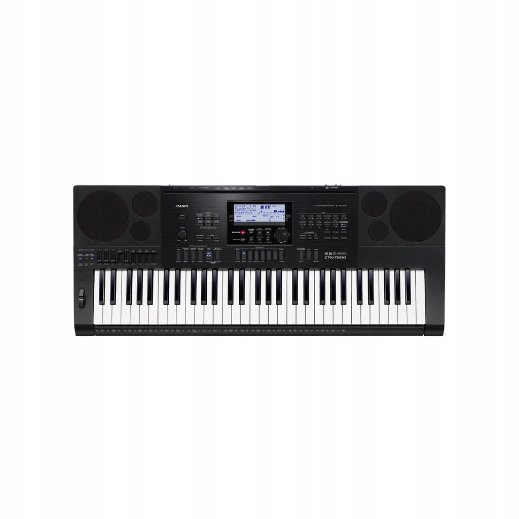 NOWY Keyboard Casio CTK-7200 Sekwencer Arpeggiator