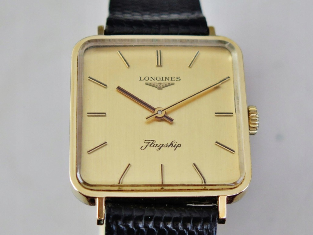 Zegartek Longines Flagship 847.4 złoty vintage 60