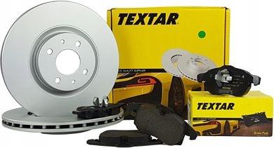 TEXTAR TARCZE+KLOCKI PRZÓD BMW X5 R70 X6 E71 365MM