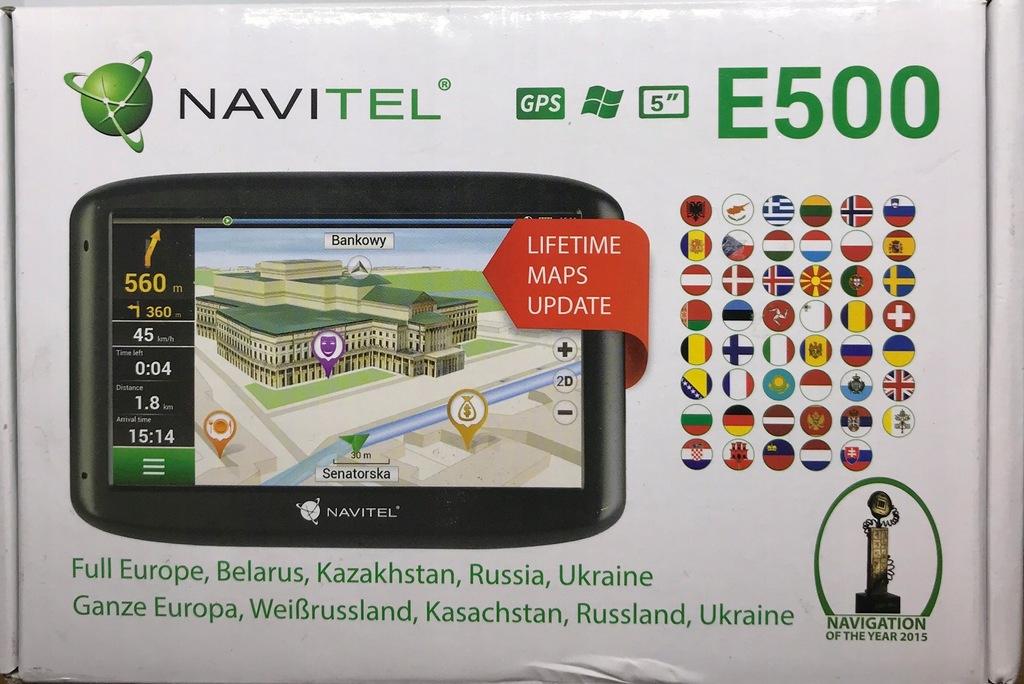 NOWA Nawigacja samochodowa Navitel E500 FV