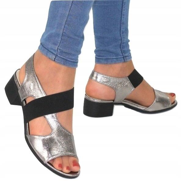 damskie buty na lato na niskim obcasie