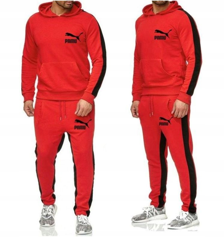 Zestaw Komplet Sportowy Bluza + Spodnie 2XL