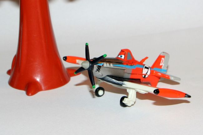 PLANES, DUSTY SUPERCHARGED, Mattel 1:55! TANIO!