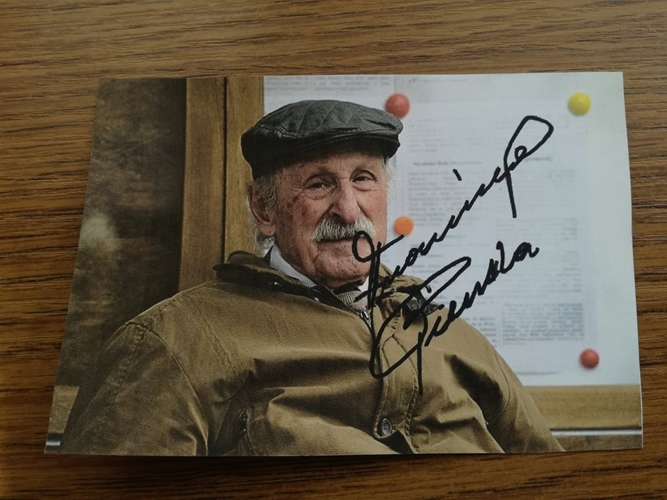 autograf Franciszka Pieczki