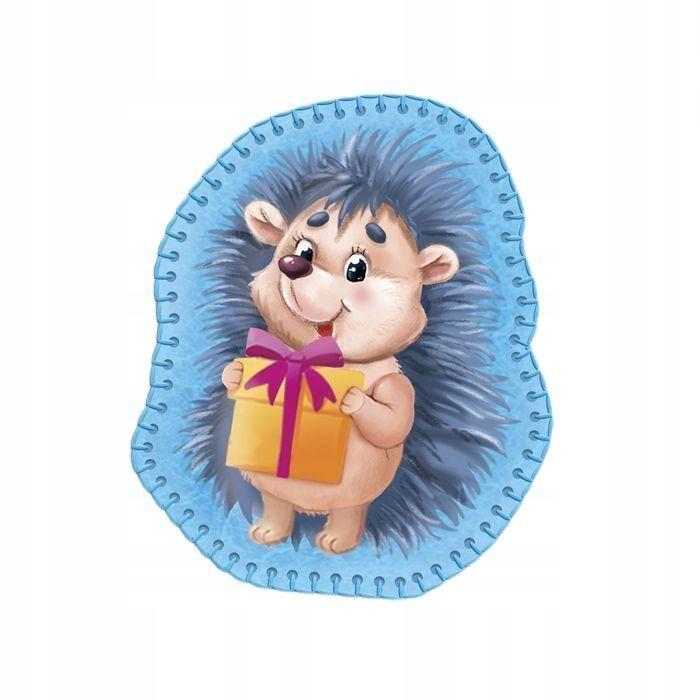 """Zabawka wykonana z filcu """"hedgehog darem"""" dla"""