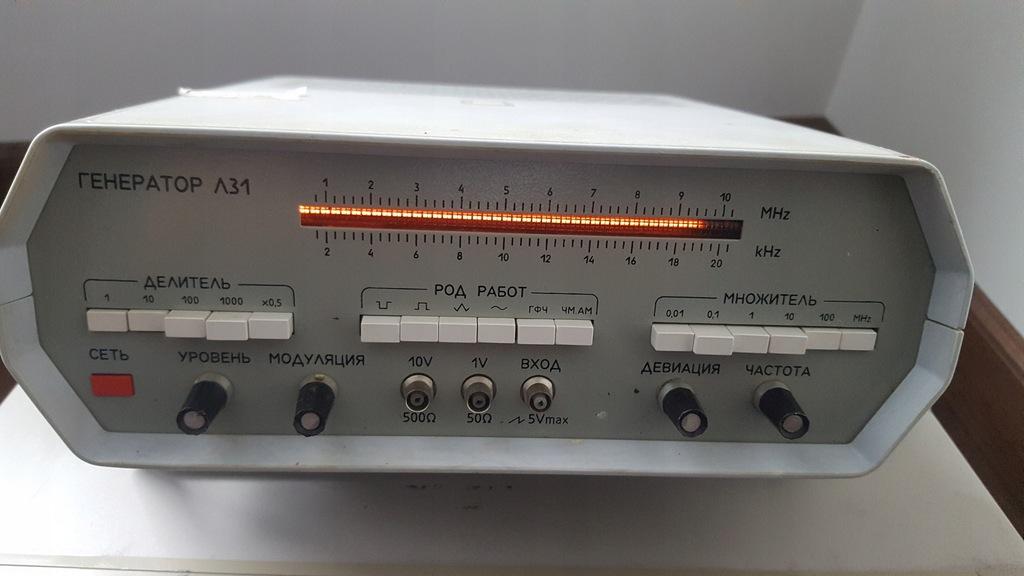 GENERATOR L31 10MHz CCCP (