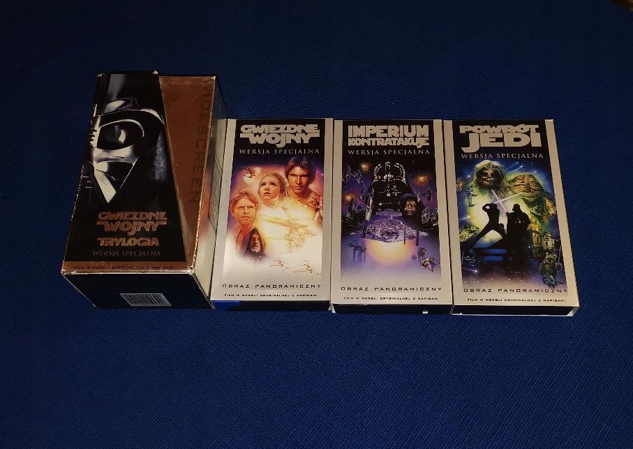Gwiezdne Wojny Trylogia kasety video 1997