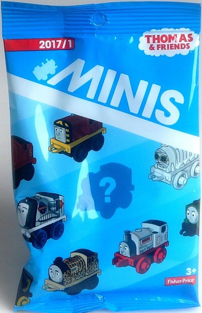 MINIS Fisher Price Tomek i Przyjaciele lokomotywa
