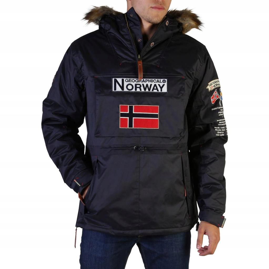 Geographical Norway kurtka męska niebieski XXL