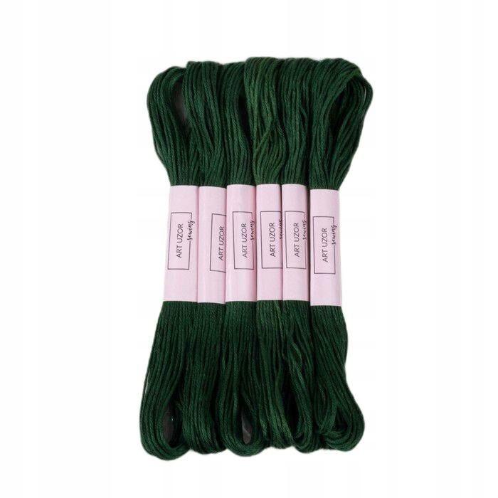 24 szt. nici mulinowe 8 ± 1 m kolor