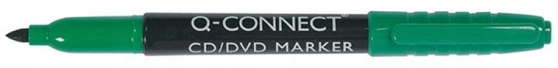 Marker do płyt CD/DVD Q-CONNECT 1mm zielony 10szt
