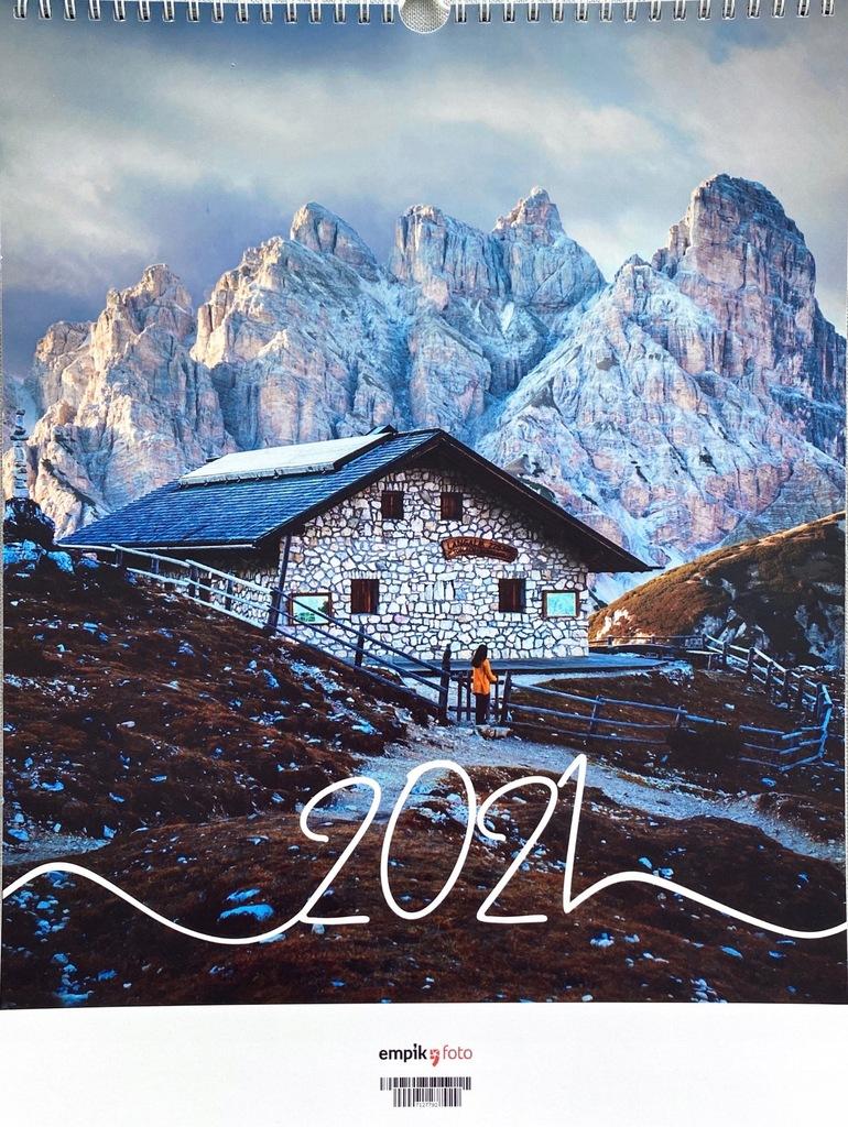 Kalendarz ścienny - Fotografia i Podróże - jedyny!