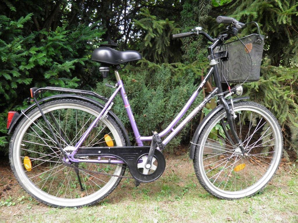 KLASYK miejski rower PEGASUS rama 21'' na 26''koła