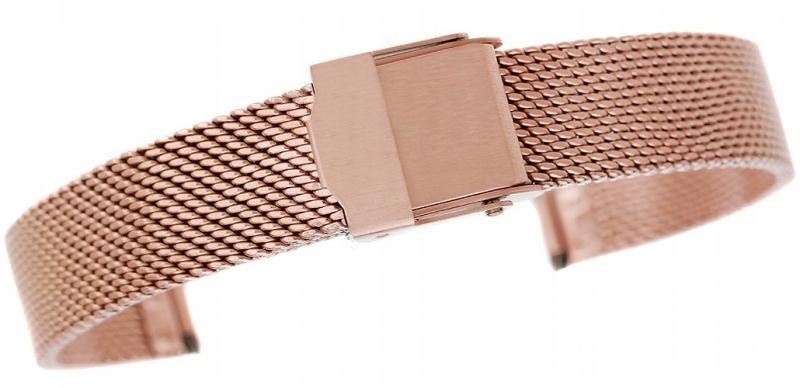 Bransoleta - Siatka Rose Gold 12 mm gr. 1,9 mm