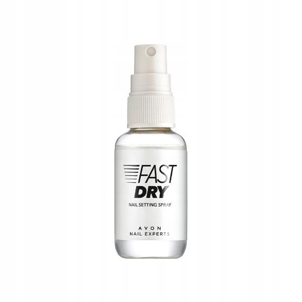 Spray przyspieszający wysychanie lakieru do paznok