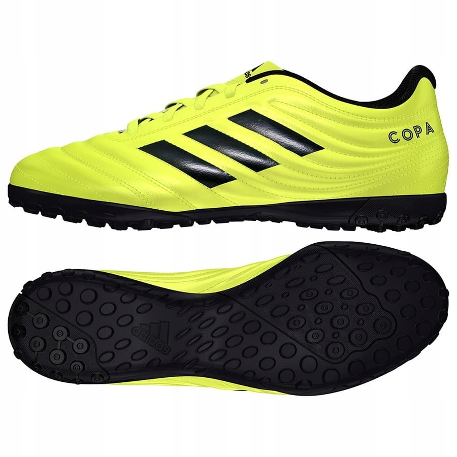 Buty adidas TURFY Copa 19.4 TF ŻÓŁTY; 43 13