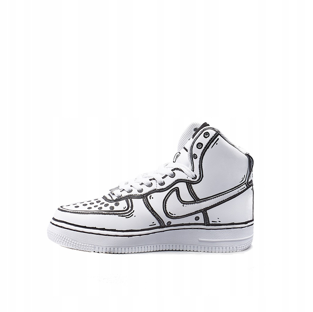 Buty Cartoon Custom Nike Air Force 1 (38) EASTEND