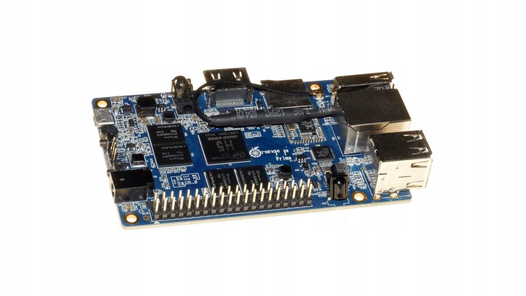 Orange Pi Prime Quad Core Komputer + karta SD 16GB