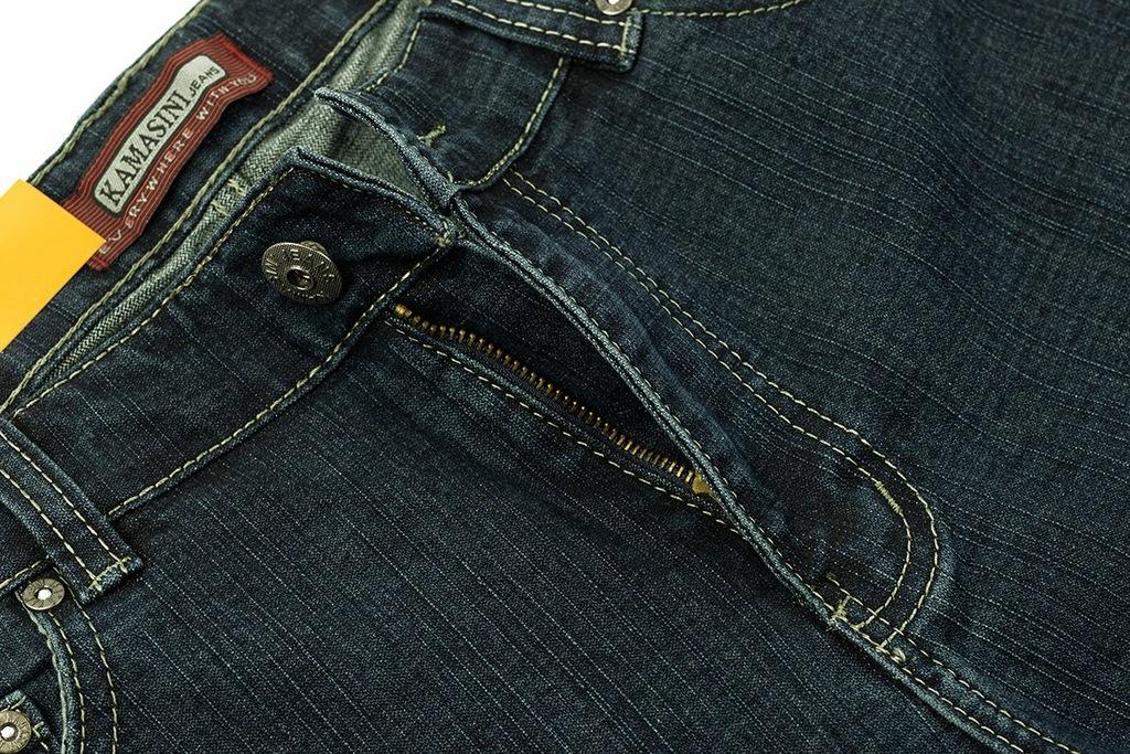 KAMASINI jeans granat (Pas96 Dł112) W36 L33 7871254272