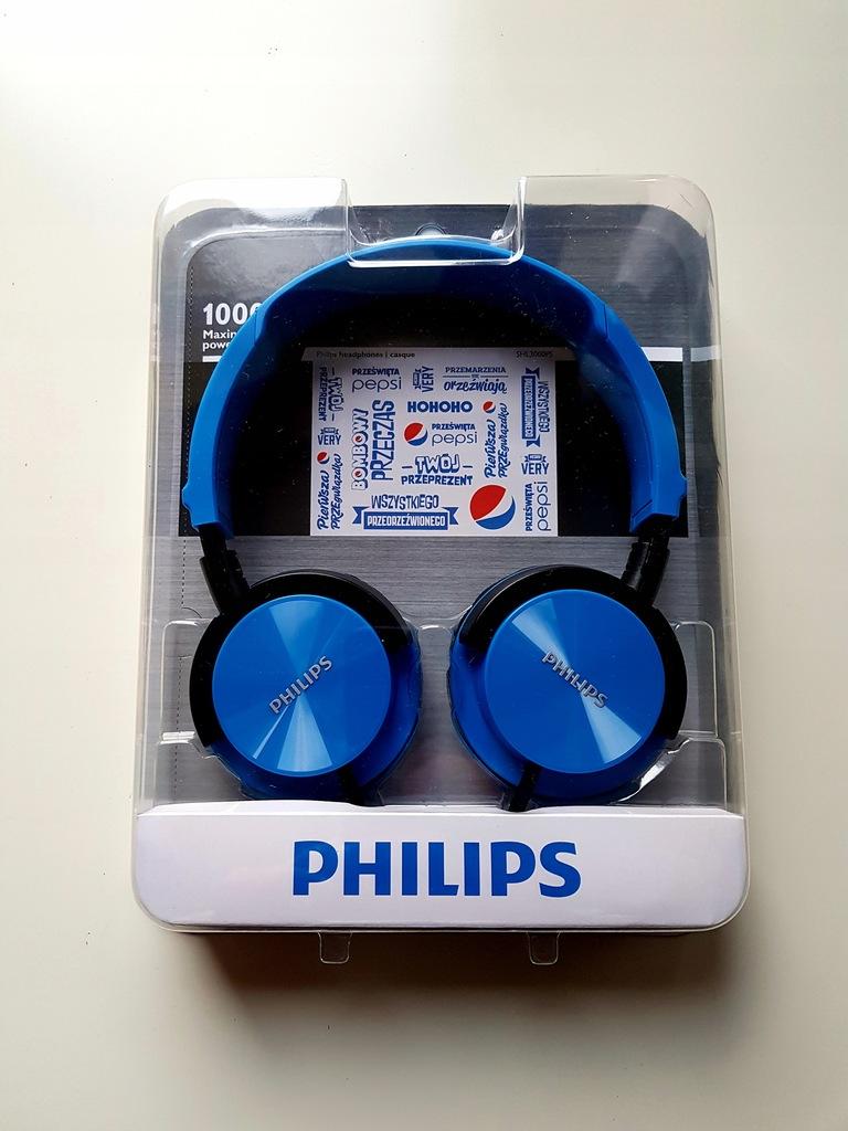 Słuchawki Philips Pepsi SHL3000PS Edycja Limitowa.