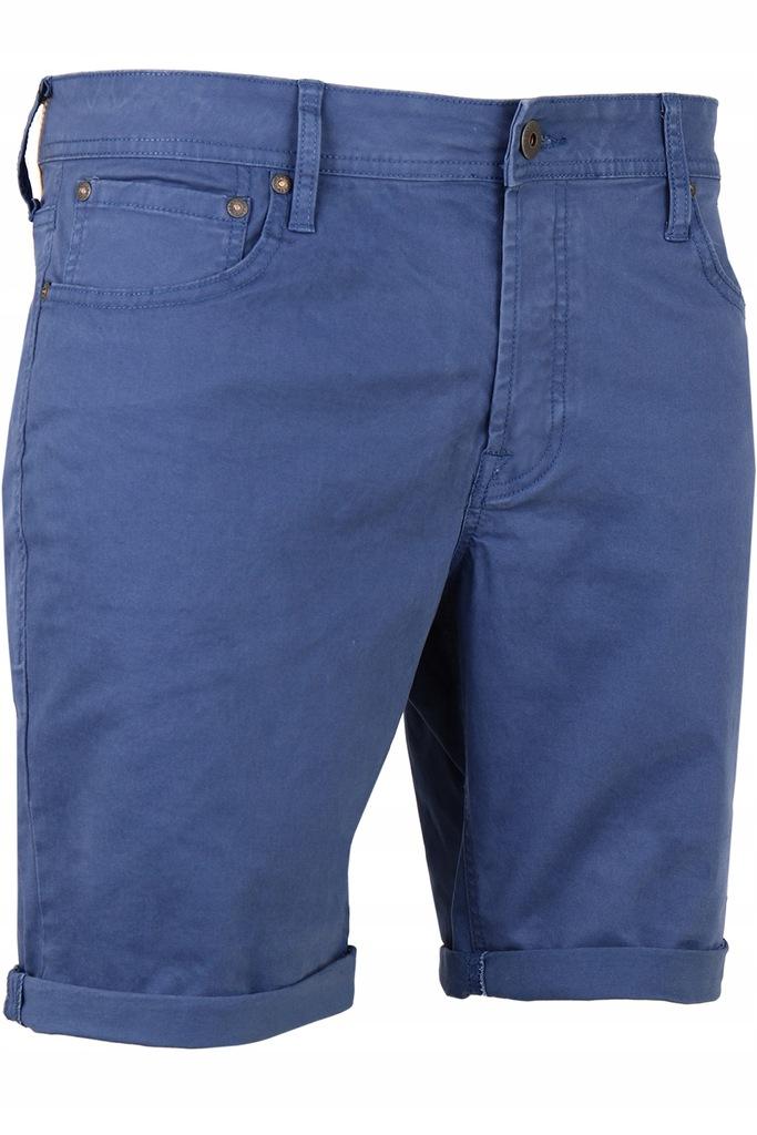 JACK&JONES jeansowe szorty 12146165-NAV. r XL