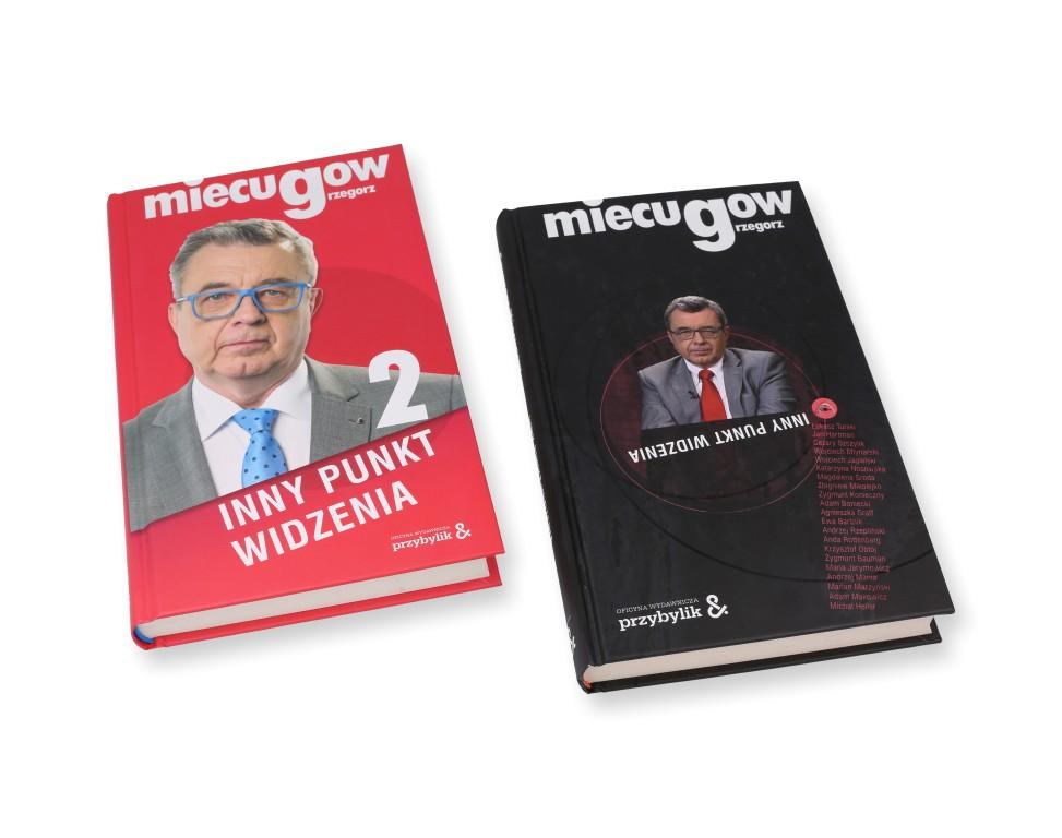 """Książki """"Inny punkt widzenia"""" Grzegorza Miecugowa"""