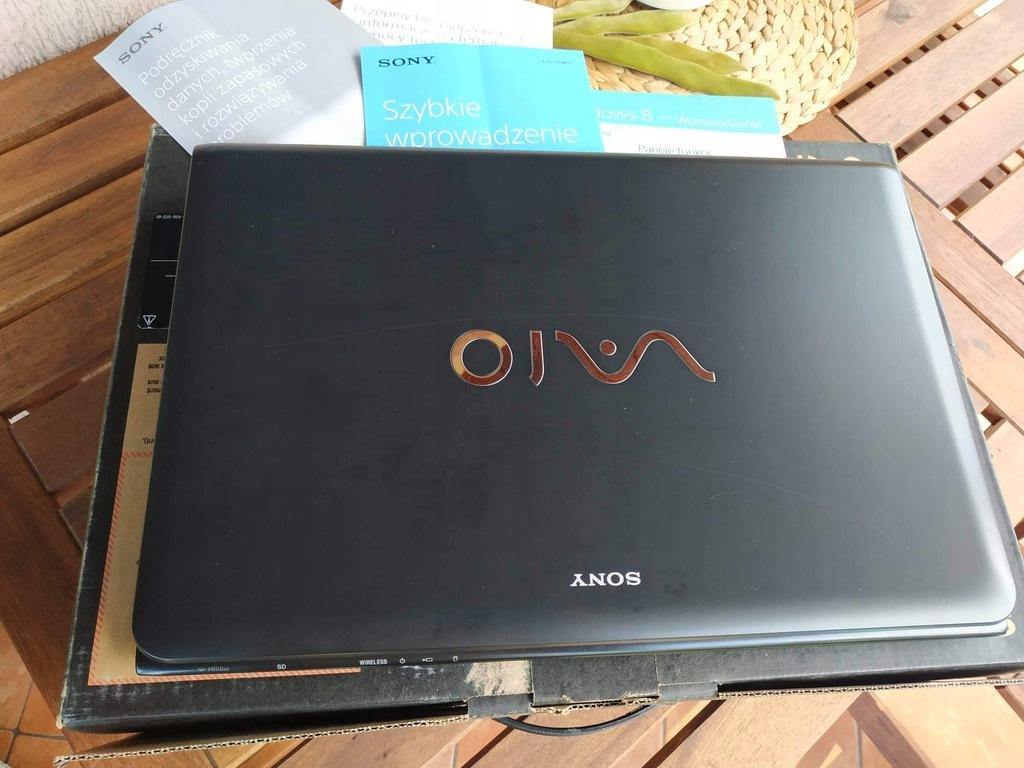 Laptop Sony Vaio 17cali I5 Uszkodzona Grafika 9621270694 Oficjalne Archiwum Allegro