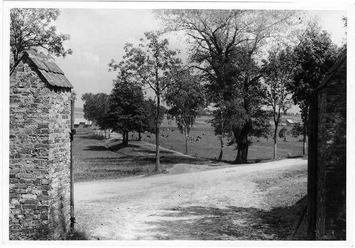 fotografia 1939-44 Pstrążna pow. Rybnik Ausfahrt a
