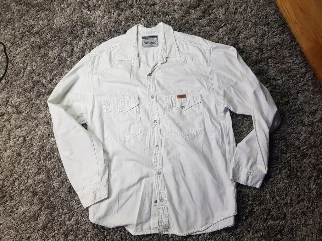 3x WRANGLER koszule ROZ L
