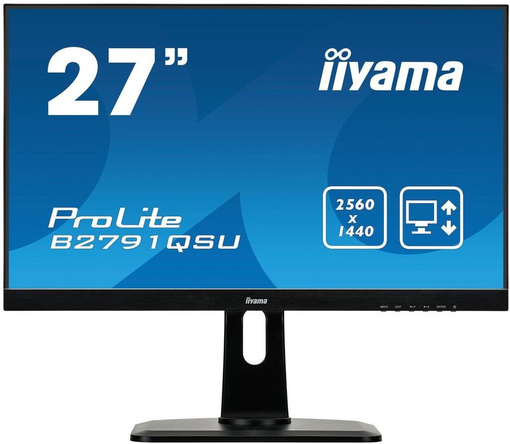 Monitor Iiyama 27'' B2791QSU-B1 1ms WQHD Pivot