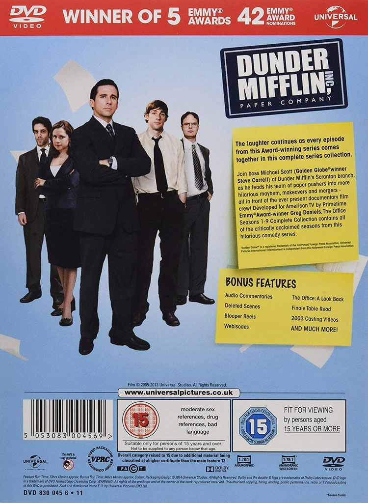Biuro 38 Dvd Box Set The Office