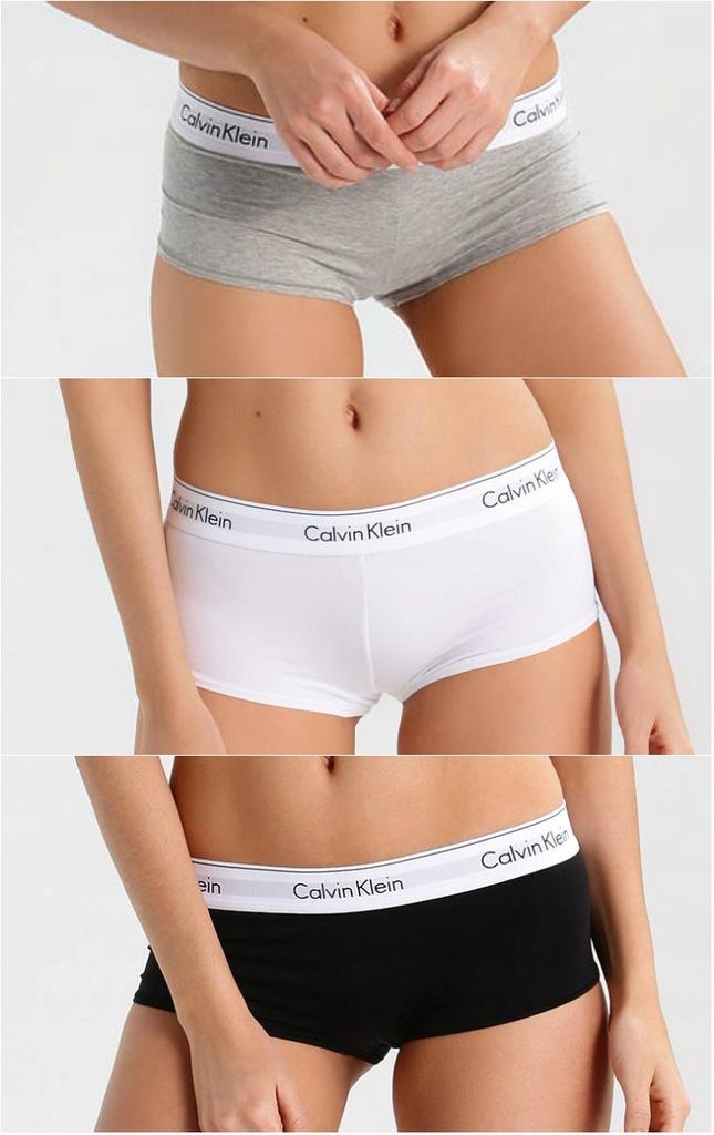 Bokserki Damskie Komplet Calvin Klein S Xl 7811639106 Oficjalne Archiwum Allegro